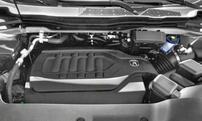 2021 Acura MDX Type S Engine