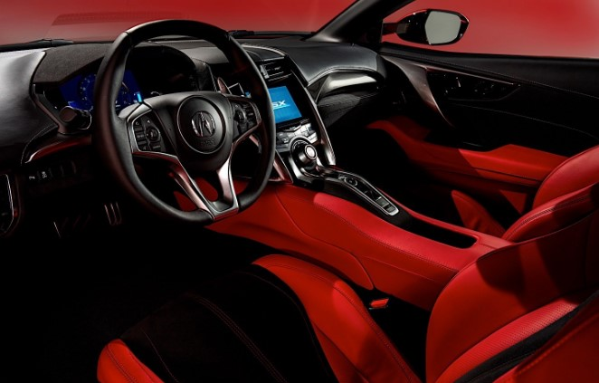2021 Acura NSX Type-R Interior