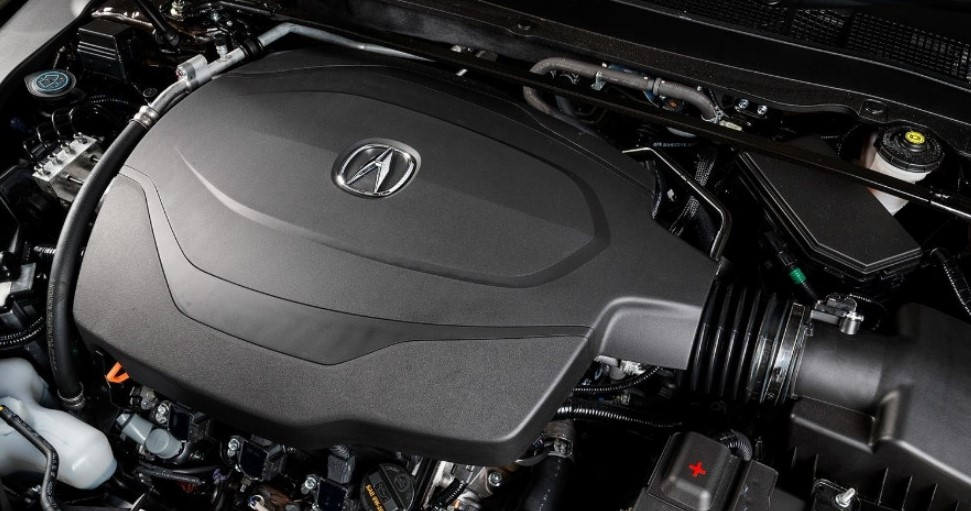 2021 Acura TLX Type S Engine