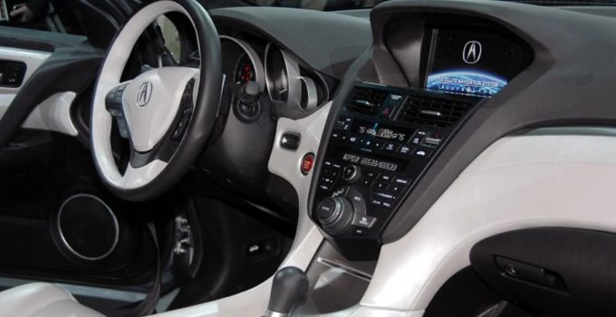 New 2022 Acura ZDX Interior