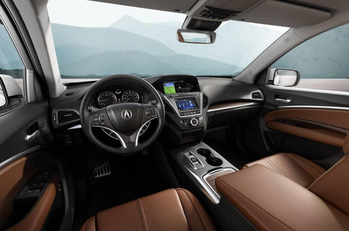 New 2023 Acura MDX Interior