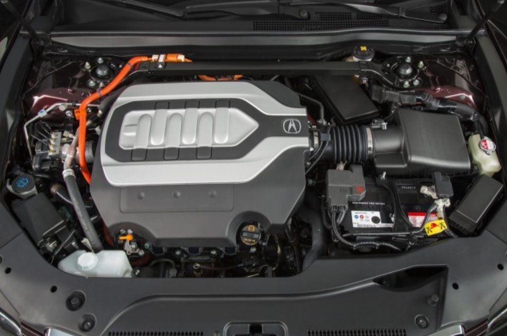 New 2023 Acura RLX Engine